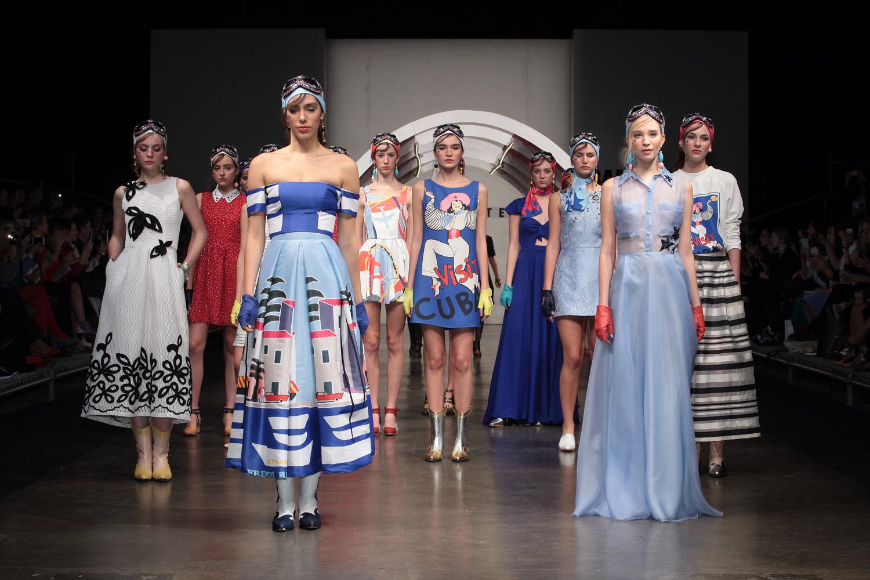 Minimalismo y explosión de colores en las pasarelas de Buenos Aires Fashion Week
