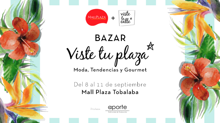 Este jueves el bazar VisteTuPlaza llega a Mall Plaza Tobalaba