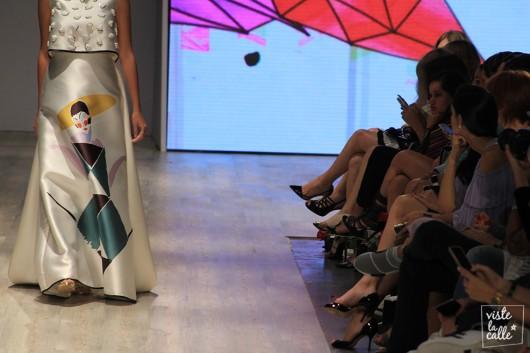 El paso de Chiara Leone por las pasarelas 2017