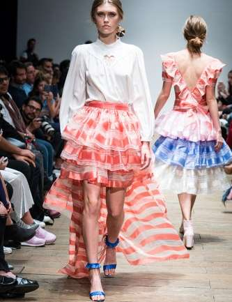 Mexico City Fashion Week: La colección girly con un toque folclórico de Pink Magnolia