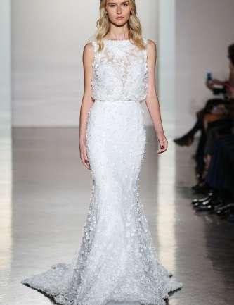 Los vestidos más hermosos y destacados del Bridal Fashion Week Fall 2017