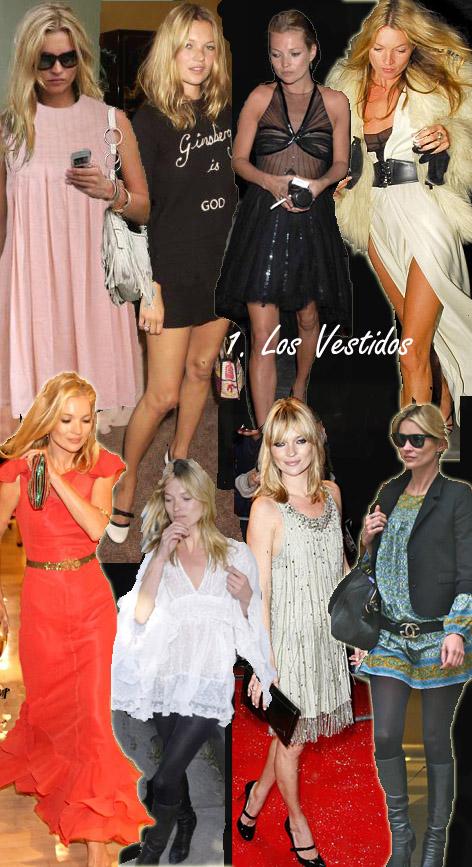 Los greatest hits de Kate Moss