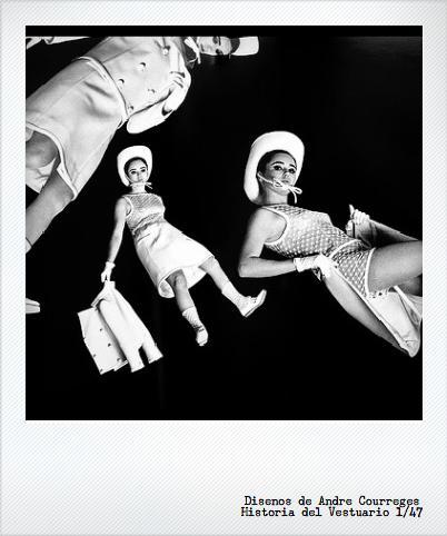 André Courrèges: diseño retrofuturista en los 60's