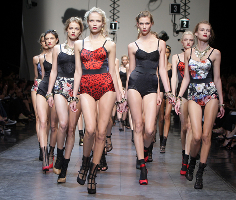 Milan Fashion Week: Dolce & Gabbana