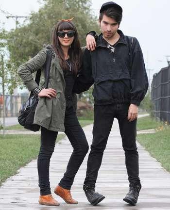Javiera Amelia e Israel Rojas