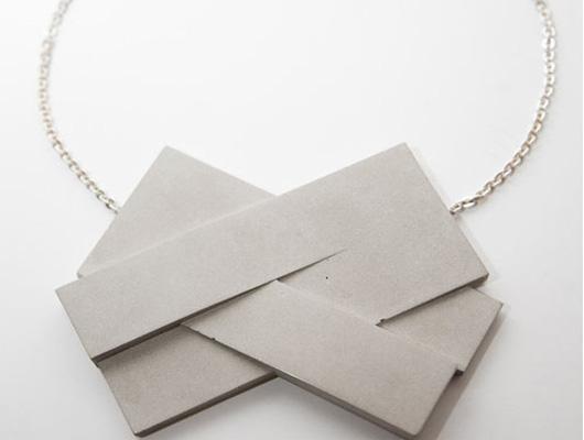 Bergner Schmidt: joyas hechas de cemento