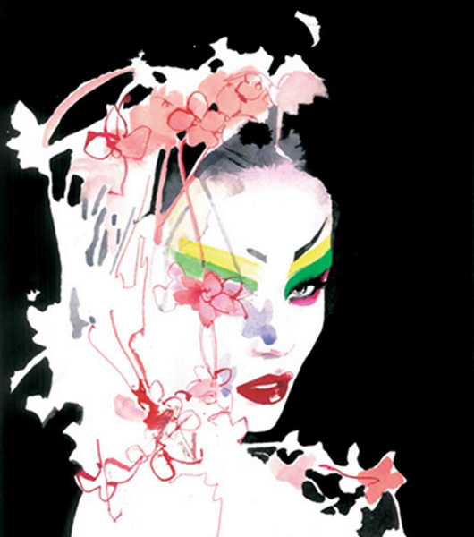 David Downton: un sello que traspasa el papel