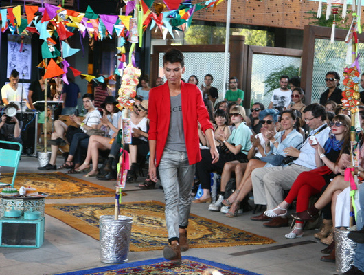Desfile VisteLaCalle en Puma Lab: Esteban Arteaga