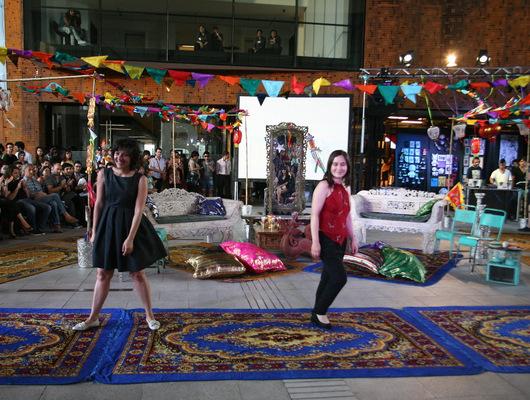 Desfile VisteLaCalle en Puma Lab: Señoritas Indumentaria