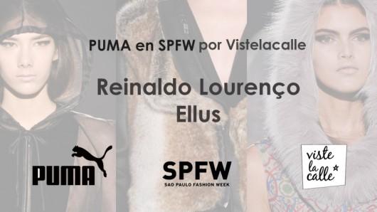 Puma en SPFW por VisteLaCalle: Reinaldo Lourenço y Ellus