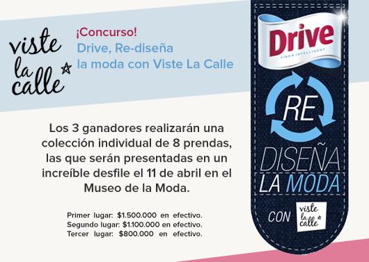 Participa de nuestro increíble concurso Drive Re-diseña la moda!