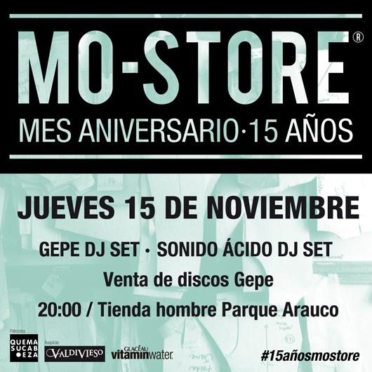 MO Store cumple 15 años y los celebra en grande