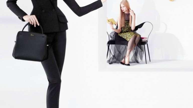 La primera campaña de Raf Simons en Dior