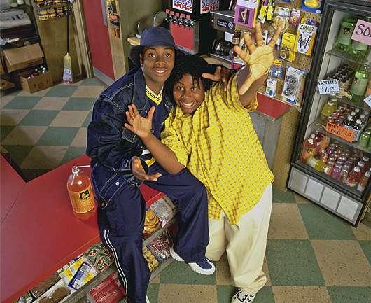 Estéticas televisivas de los 90: Kenan y Kel
