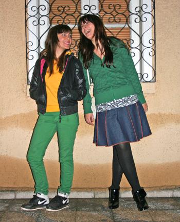 Fran Vilches y Carmen Barahona