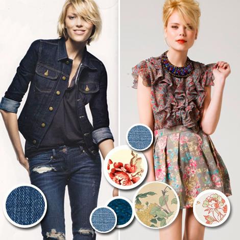 Los si y no PV 2011: Jeans con jeans y flores con flores