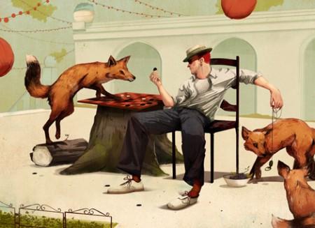 Jonathan Bartlett: ilustraciones impregnadas de testosterona