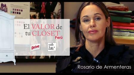 El Valor de tu Clóset Perú: Rosario De Armenteras