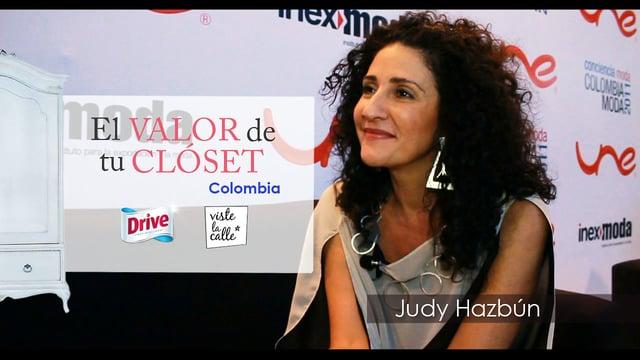 El Valor de tu Clóset Colombia: Judy Hazbún