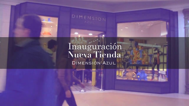 Inauguración de tienda Dimensión Azul en Costanera Center