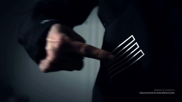 Vistiendo tecnología: MIDI Controller Jacket