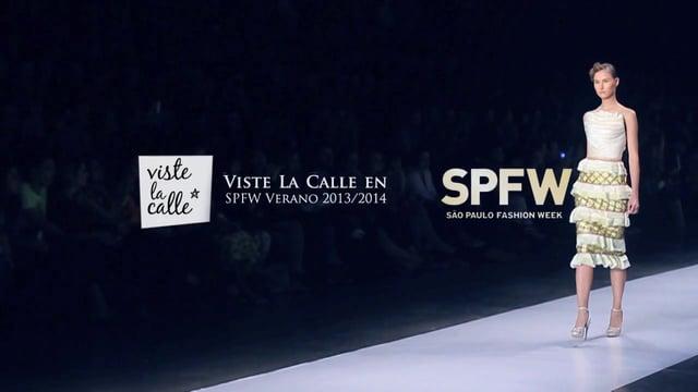VisteLaCalle en Sao Paulo Fashion Week S/S 2014: Samuel Cirnansck