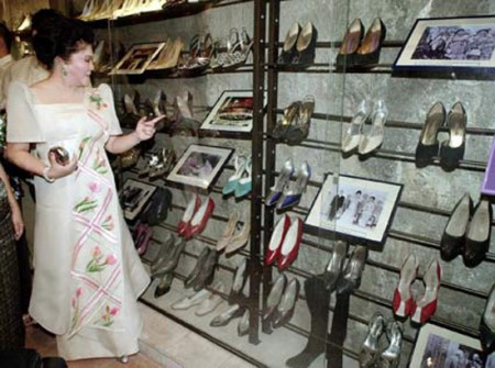 Imelda Marcos, la mujer con los 3.000 pares de zapatos