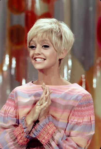 Goldie Hawn, la it girl americana de los '60