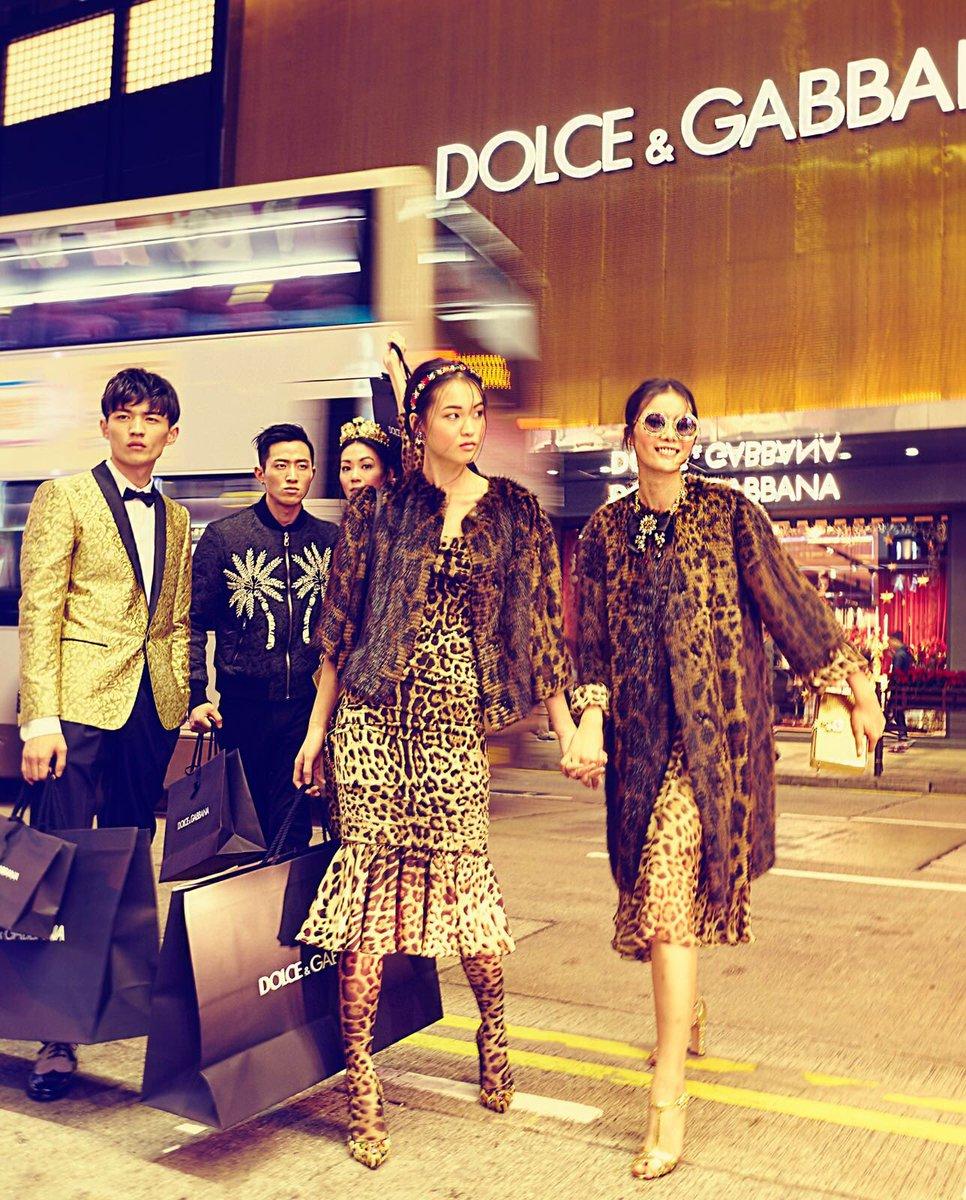 El primer desfile de Dolce & Gabbana fuera de Italia