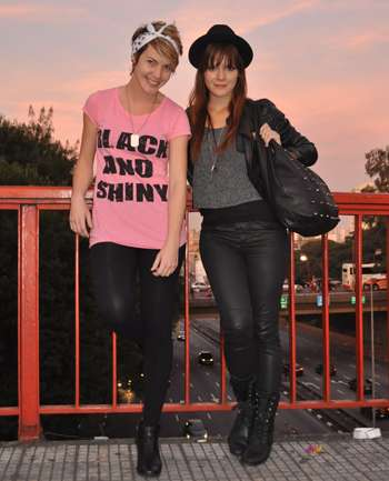 Diana Balsini y Priscila Borges