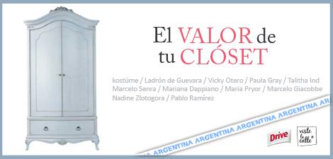 """VLC 2011: """"El valor de tu clóset"""" Argentina"""
