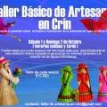 Talleres de artesanía: Telar y Cestería en Crin