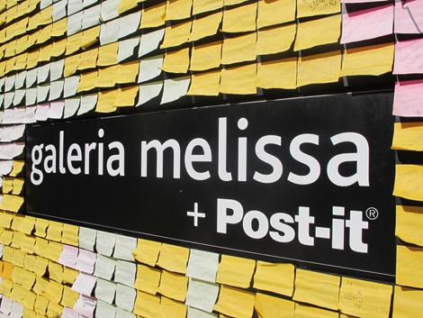 Galería Melissa en Sao Paulo