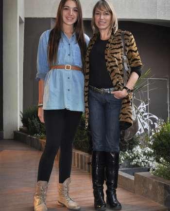 Luz Mardones y María Cristina Heredia