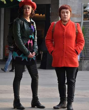 Marcela Nuñez y Francisca Ortega