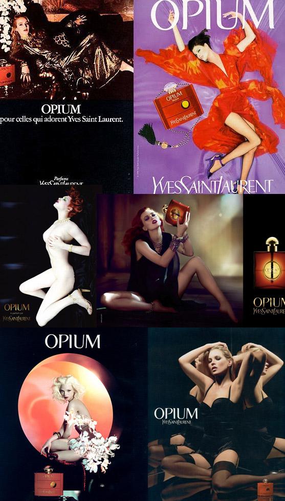 El mismo perfume, distintas modelos