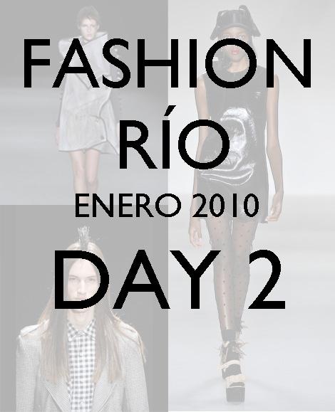Fashion Río: Walter Rodríguez, Cantão, Lucas Nascimiento y Printing.