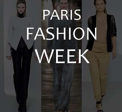 Paris Fashion Week SS2011: YSL y Lanvin