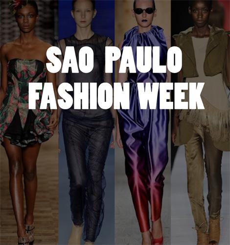 SAO PAULO FASHION WEEK: Herchcovitch, Osklen, Rosa Chá y Triton