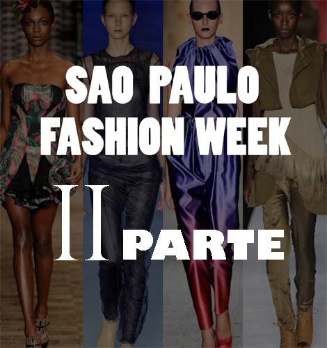 Sao Paulo Fashion Week: Cirnasck, Fraga y Herchcovitch