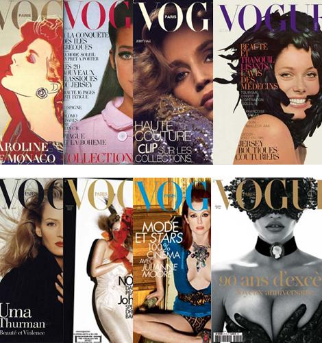 Las 50 portadas más destacadas de Vogue