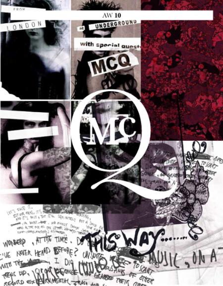 McQ Fall 2010 Lookbook