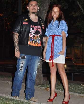 Rodrigo Collar y Klaudia Bernal