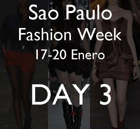 Sao Paulo Fashion Week: Ellus, Fabia Bercsek, Iódice, Simone Nunes y Triton.
