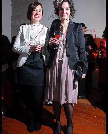 Valentina de Aguirre y Carola Muñoz