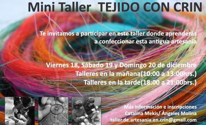 """""""Feria de Arte y Diseño Reciclado"""" + Taller Origami y Crin"""