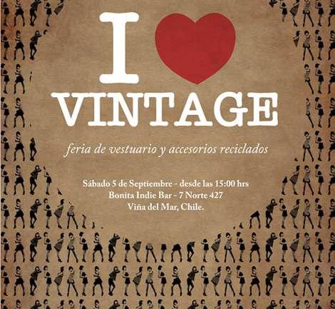 I love vintage: Feria en Valparaiso