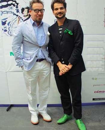 Andrés Fredes y Jaime Hayón
