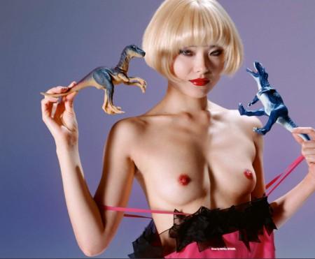 Fotografía de moda erótica: Nobuyoshi Araki