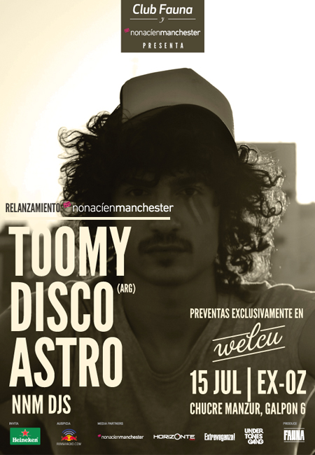 Ganadores Concurso Toomy Disco + Astro
